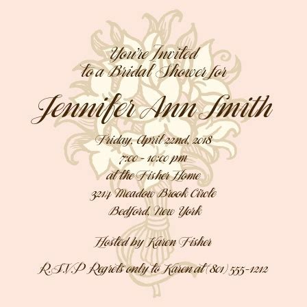 Bridal Shower Invitations & Wedding Shower Invitations