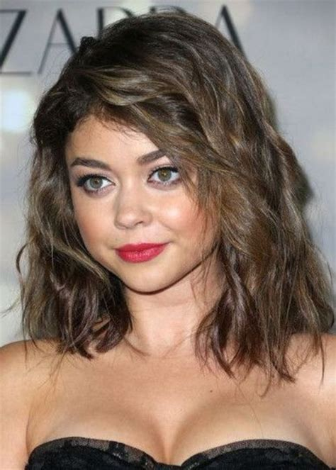 medium length hairstyles round face google search hair shoulder length hairstyles for round faces
