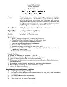 Job Coach Resume by Resume Template Coaching Job Bestsellerbookdb