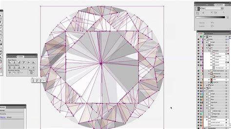 adobe illustrator diamond pattern making a realistic self portrait diamonds and pearls in