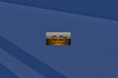 digital windows digital clock windows 10 gadget win10gadgets