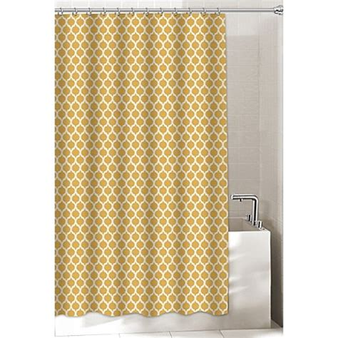 bed bath and beyond extra long shower curtain buy morocco 72 inch x 96 inch extra long shower curtain