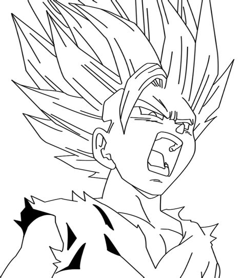 gohan coloring pages bing images