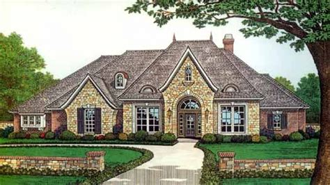 french country home plans one story french country house plans one story french country