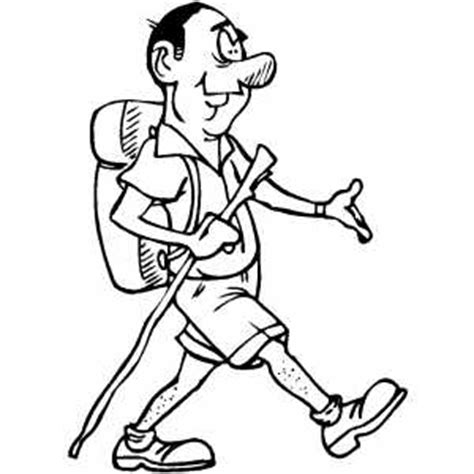 person walking coloring page how to draw person dead