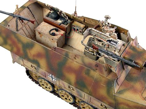 135 Tamiya Kanonenwagen Half Track Sdkfz 251 9 Kanonenwagen Escala 1 35 Kit Tamiya 880