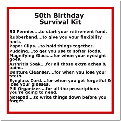 whats free for 50 yrolds 50th birthday gift ideas diy crafty projects