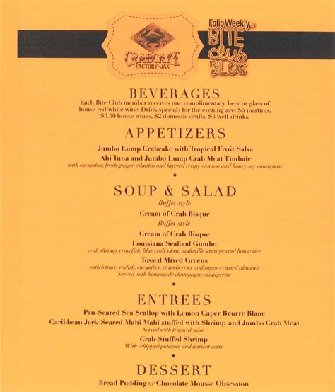 a la carte menu template united states flag country menu