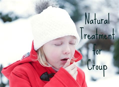 doctor prescribed treatment for healing croup naturally
