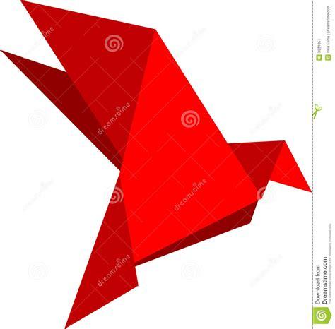 De Origami - de duif de origami stock afbeelding afbeelding 3931851