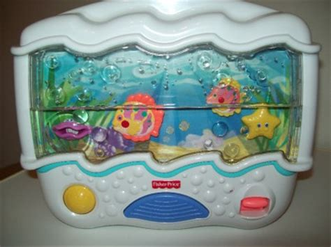 fisher price wonders musical aquarium crib soother