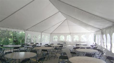 30' x 90' Frame Wedding Event Tent Rental: Iowa, IL, MO & WI