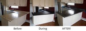 Related post with countertop refinishing 1 after countertop after