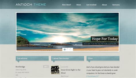Church Website Templates Learnhowtoloseweight Net Church Website Templates