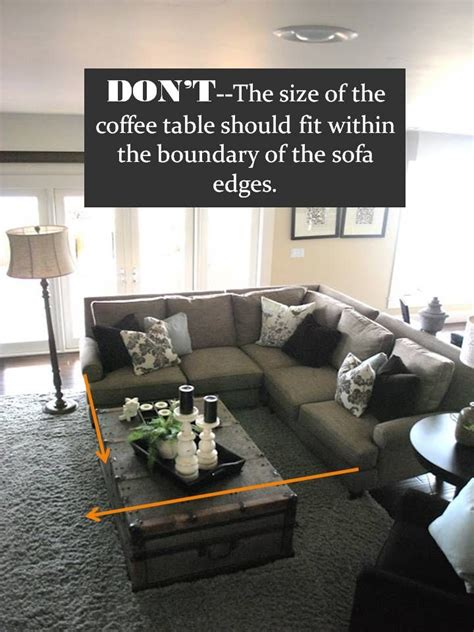 coffee tables for sectional sofas design guide how to style a sectional sofa living room