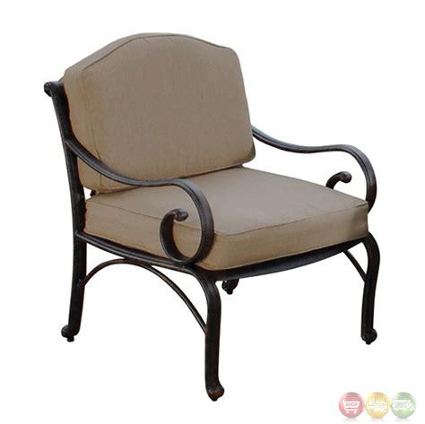 bridgeton patio furniture 5 cast aluminum outdoor patio furniture club chair set