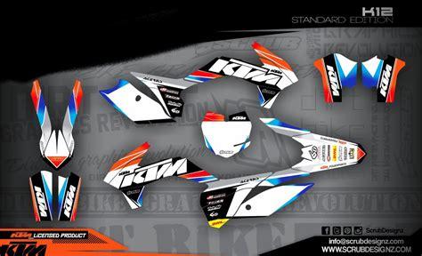 Ktm Verkleidung Aufkleber by Ktm Dekorsatz Sx 85 13 17 K12 St Mx Kingz Motocross Shop