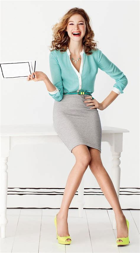 gorgeous and girlish pencil skirt for work 20