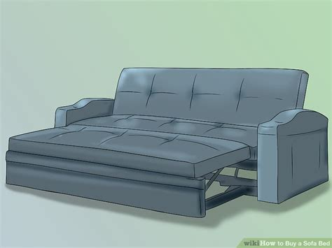 how to buy a sofa how to buy a sofa bed 8 steps with pictures wikihow