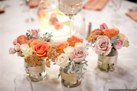 vintage chic centerpieces wedding flowers photos by enchanting events image 5 of 23 weddingwire