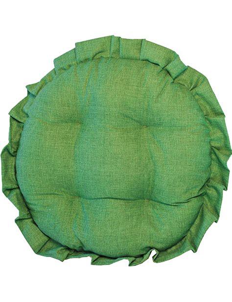 cuscini rotondi per sedie cuscini per sedie rotondi tinta unita made in italy