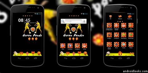 go launcher themes real madrid real madrid android theme for go launcher androidlooks com