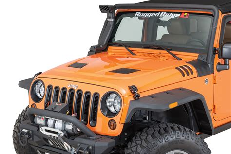 Jeep Wrangler Vented Rugged Ridge 17759 01 Performance Vented For 07 17