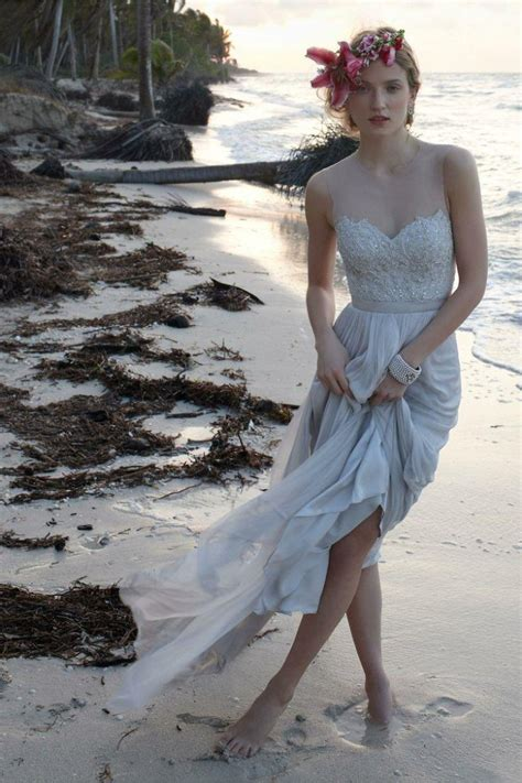 casual beach wedding dresses to stay cool modwedding