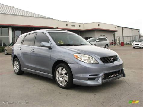 2004 Toyota Matrix Xr 2004 Cosmic Blue Metallic Toyota Matrix Xr 4823551