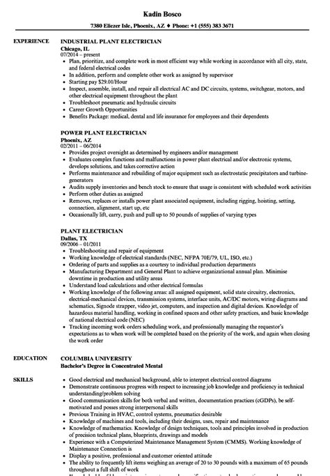 electrician resume format electrician resume choice image cv letter and format sle letter