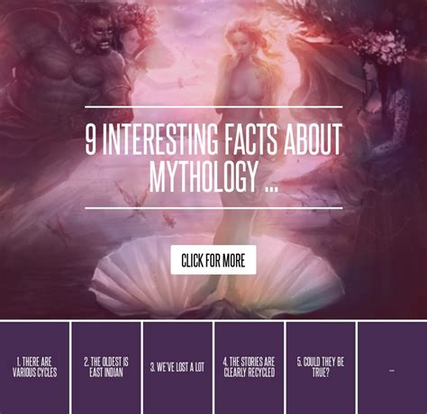 7 Most Interesting Myth God Facts by 9 Interesting Facts About Mythology Lifestyle