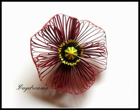 quilling poppy tutorial 91 best images about quilling flowers poppies on