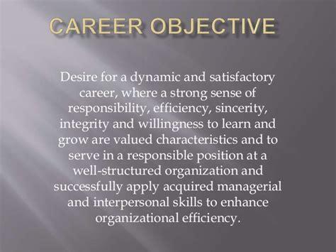 career objective self assessment summary linkedin