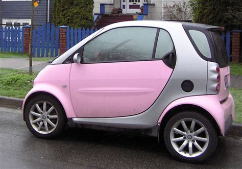 smart car pink pink smart car cars wheels