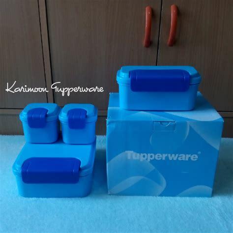 Tupperware Klik Klak klik klak set gratis ongkos kirim karimoon tupperware