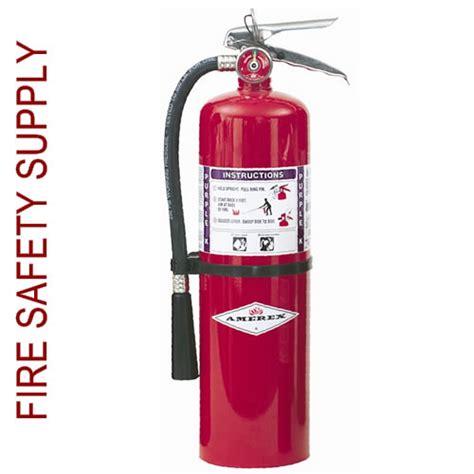 amerex b460 10 lb purple k chemical extinguisher