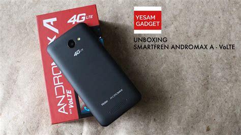 Handphone Smartfren 4g Lte Andromax A unboxing andromax a volte