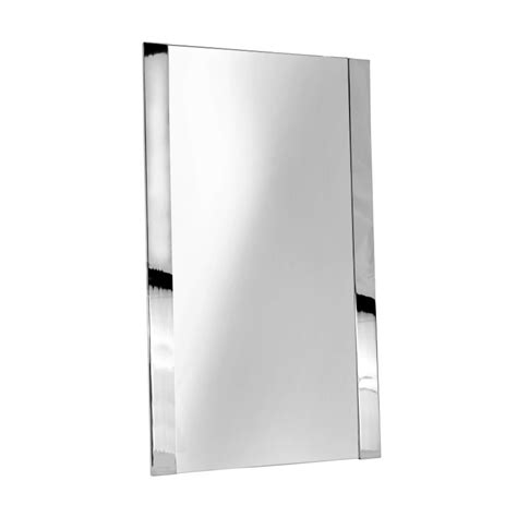 ginger bathroom mirrors ginger 4741 pc polished chrome cinu 20 x 34 framed mirror