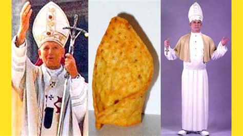 How To Make A Pope Hat Out Of Paper - pope hat chip