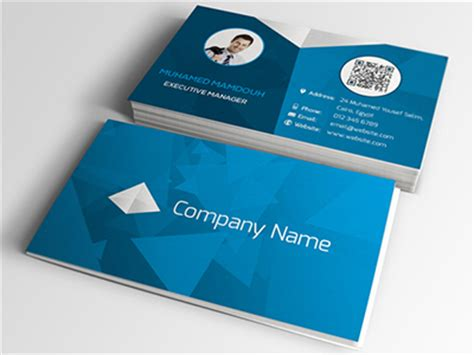 28 template name card psd 12 id card psd template