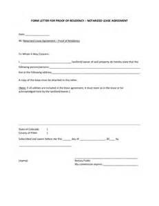 Certification Letter Residence certification letter for proof residence how write landlord letter for