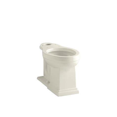 kohler comfort height elongated toilet kohler tresham comfort height elongated toilet bowl only