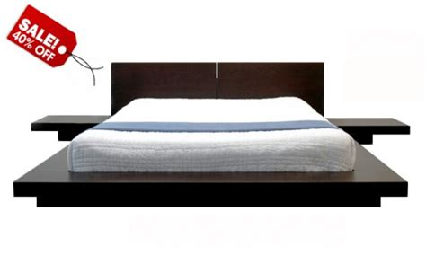 modern platform bed frame build wooden platform bed frame quick woodworking projects