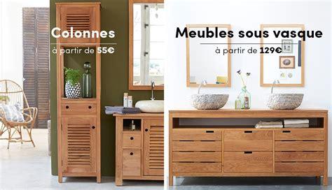 meuble salle de bain bois pas cher meubles salle de bain