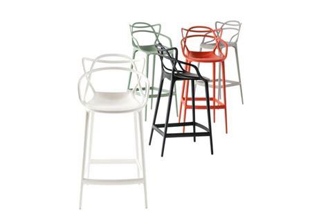 sgabello master stool  kartell arredare  stile