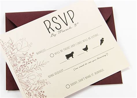 Wedding Invitations Rsvp Card In Envelope by Wedding Rsvp Envelopes Rsvp Return Envelopes
