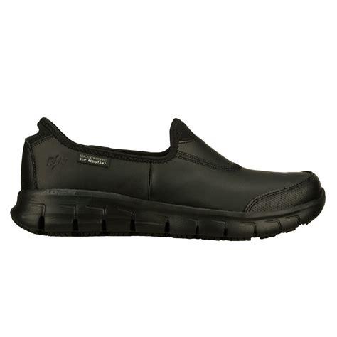 slip resistant work shoes for skechers sure track womens slip resistant work shoes