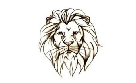 simple lion tattoo designs 6 majestic designs for gilscosmo