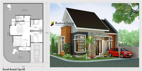 design interior rumah type 60 denah dan tak rumah minimalis sudut tipe 60 di lahan