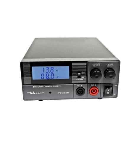 alimentatore 30a telecom rps 1230 swd alimentatore digitale 30a 9 15 v